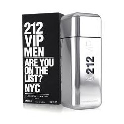 Perfume C.Herrera 212 VIP men 100 vaporizador (TESTER)