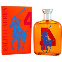 RALPH LAUREN THE BIG PONY COLLECTION Nº4 ORANGE EDT 125 ML (TESTER)
