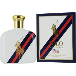 RALPH LAUREN POLO BLUE SPORT EDT VAPO 125 ML (TESTER)