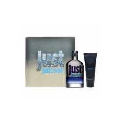 JUST CAVALLI MAN LOTE 2 PZ.( EDT VAPO 90 ML+GEL 75 ML)