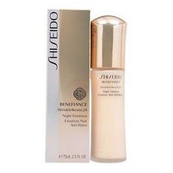SHISEIDO BENEFIANCE WRINKLE RESIST 24 NIGHT EMULSION 75 ML
