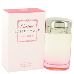 CARTIER BAISER VOLE LYS ROSE EDT VAPO 100 ML