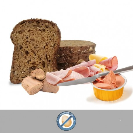 ¡PROMOCIÓN! Pan de molde artesano + Surtido de untables MEDIKALPRO
