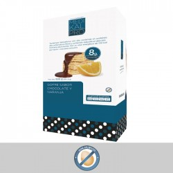 Formato económico Gofre sabor chocolate y naranja (30uds) MEDIKALPRO