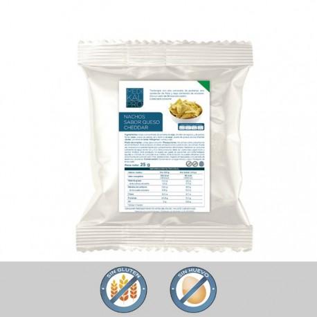 Nachos de queso cheddar (1ud) MEDIKALPRO