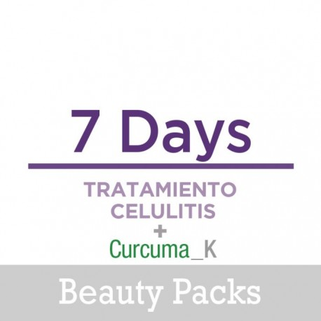 Beauty Pack 7 Days Celulitis + Cúrcuma MEDIKALPRO