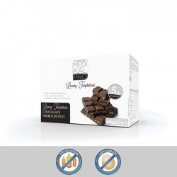 Chocolate negro Crunch (7uds) MEDIKALPRO