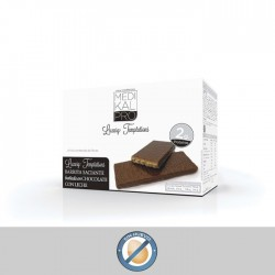 Barrita saciante bañada en chocolate con leche (7uds) MEDIKALPRO