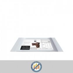 Tableta crujiente de chocolate con leche (1ud) MEDIKALPRO