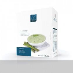 Surtido de comidas principales - Mix cremas (7uds) MEDIKALPRO
