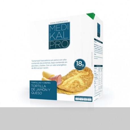 Tortilla de jamón y queso (7uds) MEDIKALPRO