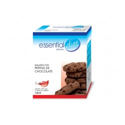 GALLETAS CON PEPITAS DE CHOCOLATE ESSENTIAL DIET