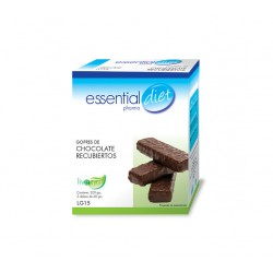 GOFRE CHOCOLATE RECUBIERTO ESSENTIAL DIET
