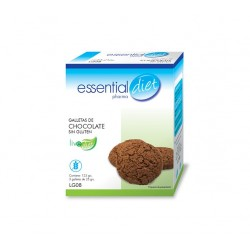 GALLETAS DE CHOCOLATE SIN GLUTEN ESSENTIAL DIET
