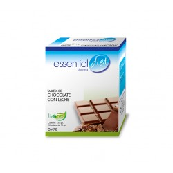 TABLETA DE CHOCOLATE CON LECHE ESSENTIAL DIET