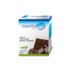 TABLETA DE CHOCOLATE NEGRO CRUJIENTE ESSENTIAL DIET