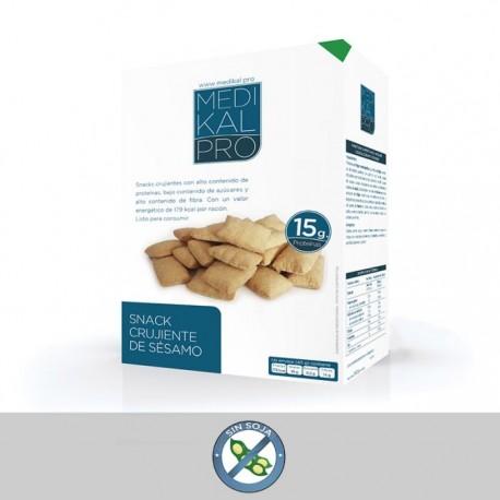 Snack crujiente de sésamo (4 uds) MEDIKALPRO