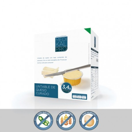 Untable de queso curado (8uds) MEDIKALPRO