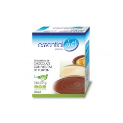EXQUISITECES DE CHOCOLATE CON VIRUTAS DE TURRÓN ESSENTIAL DIET