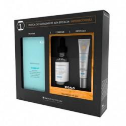 SkinCeuticals Cofre AOX Silymarin 30ml + Hydrating B5 15ml + Advanced Brightening SPF50 15ml